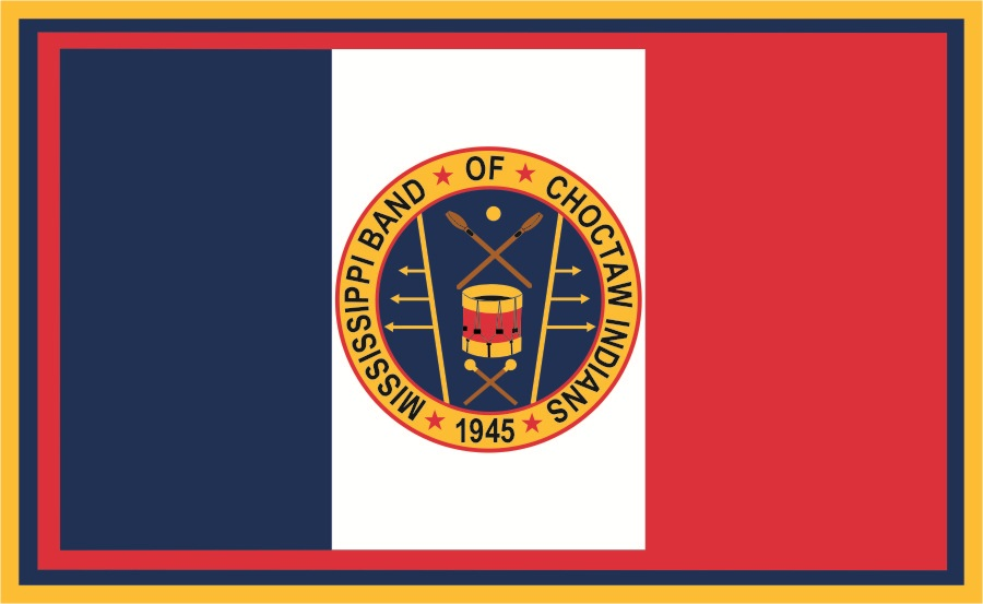 [Mississippi Band of Choctaw Indians flag]