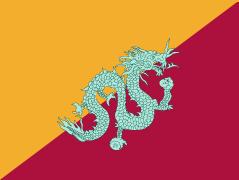 [Bhutan, first flag 1949-1956]