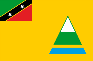 [Nevis flag (St Kits and