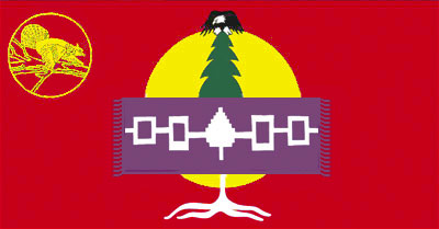 [mohawks of Akwesasne flag]