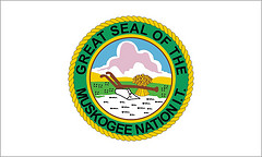 [Muskogee (Creek) Nation of Oklahoma  flag]
