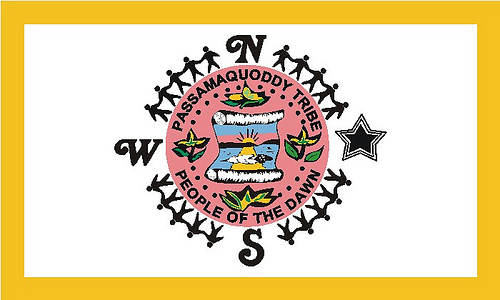[Passamaquoddy Nation flag (Maine)]